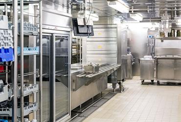 Küchenhygiene, Putzmittel, Großküchen